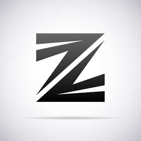 letter Z design template vector illustration Illustration