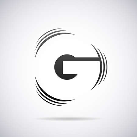 Logo for letter G design template vector illustration Çizim