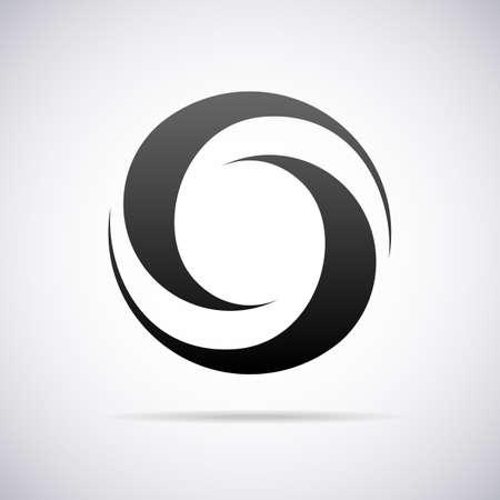 letter O design template vector illustration