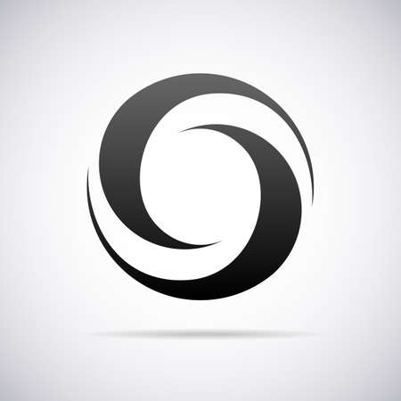 o letters:  letter O design template vector illustration
