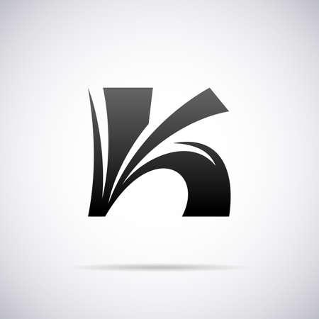 letter k: Logo for letter K design template vector illustration