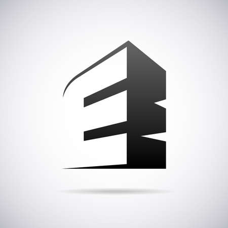 letter E design template vector illustration Ilustrace