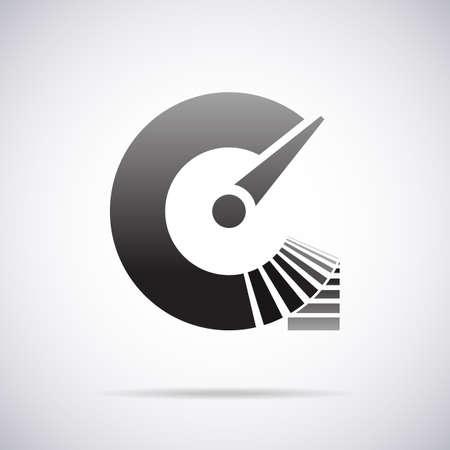 c to c: letter C design template vector illustration