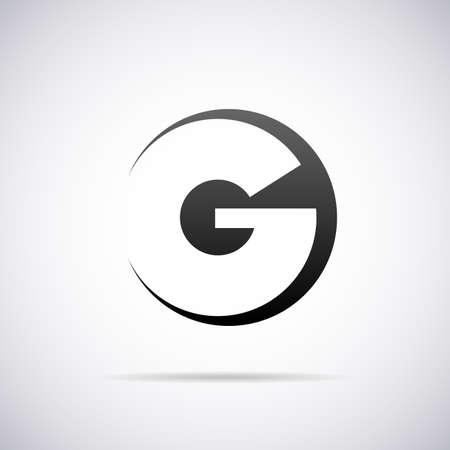 letter G design template vector illustration