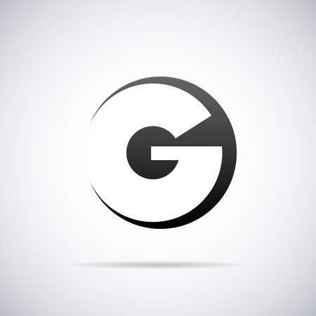 letter G design template vector illustration Stok Fotoğraf - 40309541