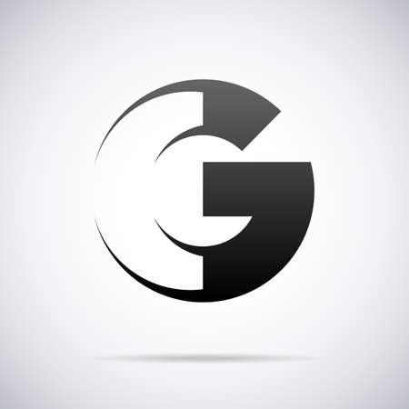letter g: letter G design template vector illustration