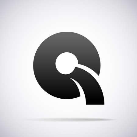letter q: Logo for letter Q design template vector illustration