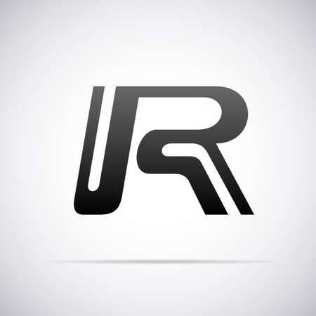 r: Logo for letter R design template vector illustration Illustration