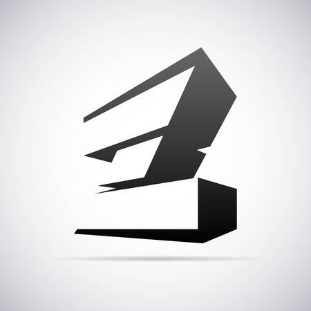 buchstabe z: Buchstabe Z-Design-Vorlage Vektor-Illustration