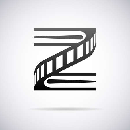 letter z: letter Z design template vector illustration Illustration