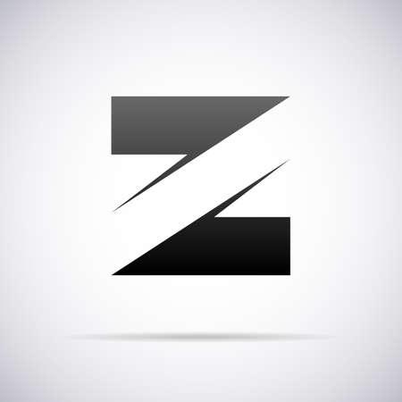 letter Z design template vector illustration Illustration