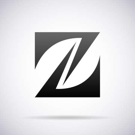 letter z:  letter Z design template vector illustration