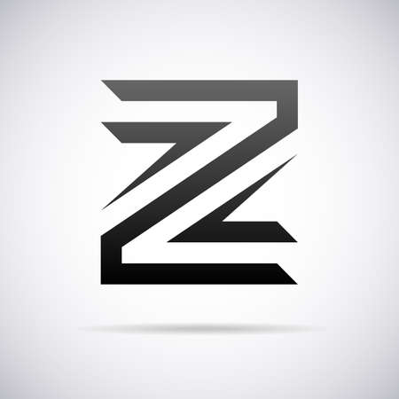buchstabe z: Logo f�r Buchstabe Z-Design-Vorlage Vektor-Illustration