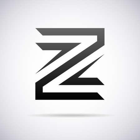 Logo for letter Z design template vector illustration Stok Fotoğraf - 43081562