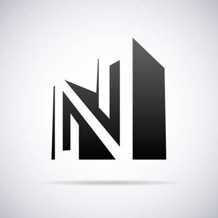 logo design: Logo for letter N design template vector illustration