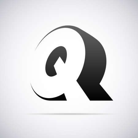 letter q: Logo for letter Q design template vector illustration