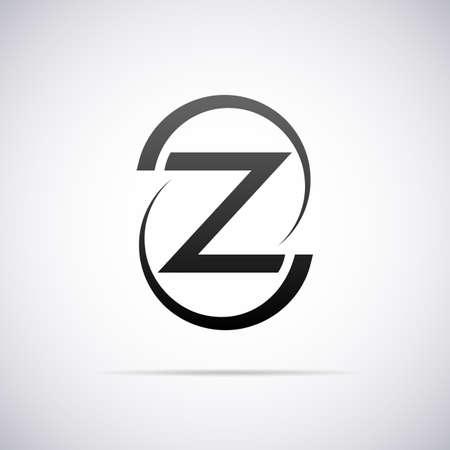 letter z: Logo for letter Z design template vector illustration Illustration