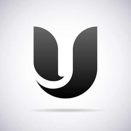 Logo for letter U design template vector illustration
