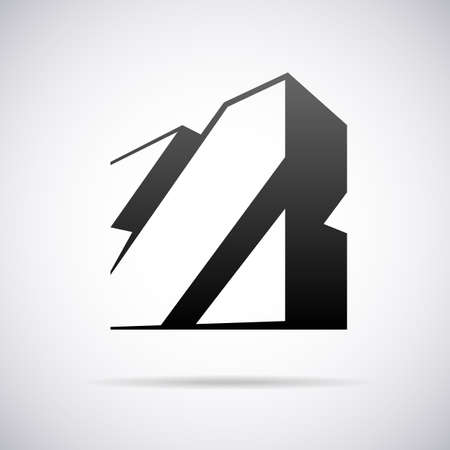 Logo for letter Z design template vector illustration Illustration