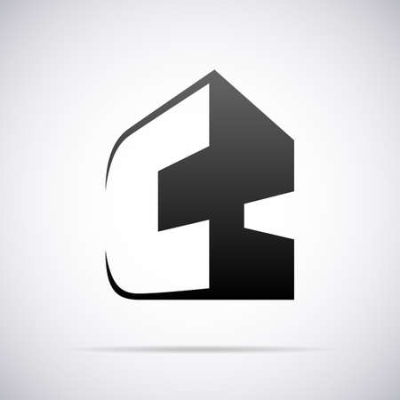 c to c: Logo for letter C design template vector illustration Illustration