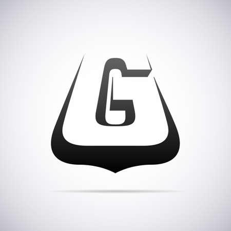 letter g: Logo for letter G design template vector illustration Illustration