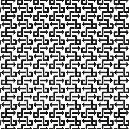 seamless pattern: Abstract vintage seamless pattern background vector illustration Illustration