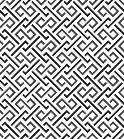Abstract vintage seamless fond illustration vectorielle