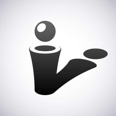 letter i: Logo for letter I design template vector illustration Illustration