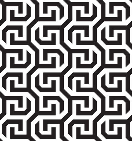 A Vector seamless pattern. Repeating geometric pattern tile background