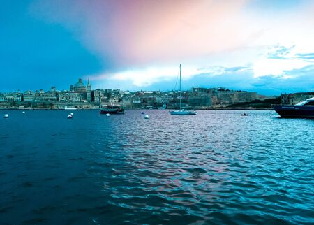Maltese sunsets are always amazing and unforgettable. Hight quality image.