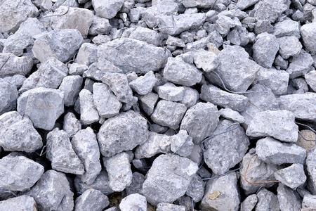 debris: Building debris - the broken stones of the destroyed building.