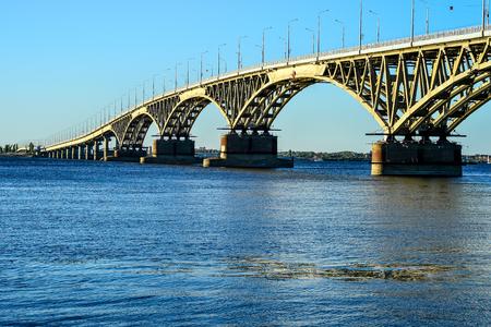 Large motor bridge across the reservoir.
