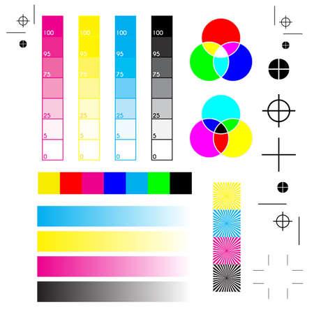 Normalpapier mit allen Druckermarken: Drucken, Schneiden und Kalibrieren