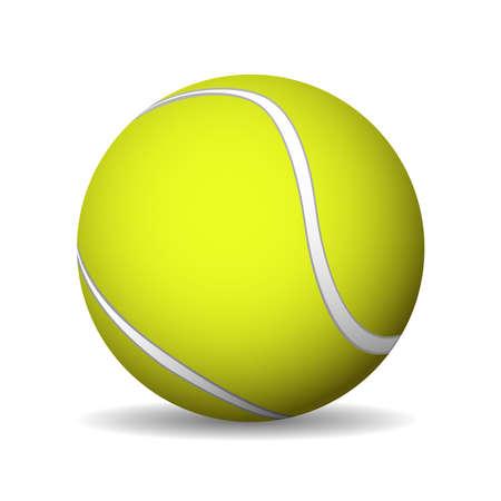 Tennis Ball. Vector illustration Illustration