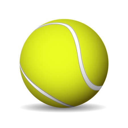 Tennis Ball. Vector illustration 向量圖像