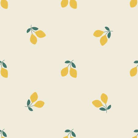 Bohemianl hand drawn pattern, ethnic pattern. Boho seamless texture. Ethnic background with lemon. Wallpaper for pattern fills, web page