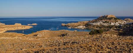 rhodes: Lindos, Saint Pauls bay, Rhodes island, Greece