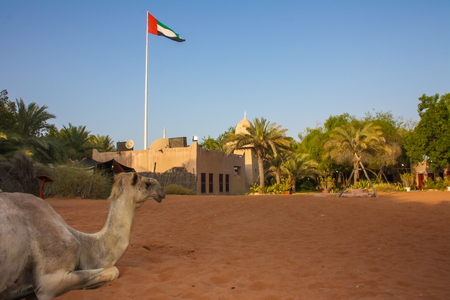 heritage village in UAE, Abu Dhabi