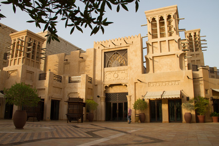 Souq al Jumairah Souk Madinat Jumeirah in Dubai, united arab emirates Editorial