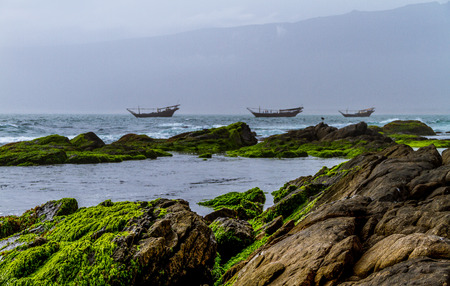 Salalah City in Oman in United Arab Emirates Stock Photo