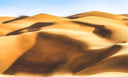 sand duns in liwa desert