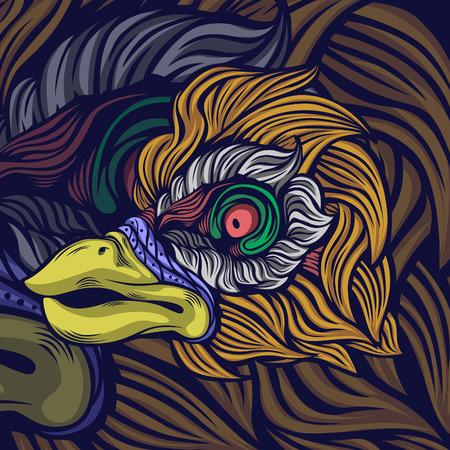 bird face spesies