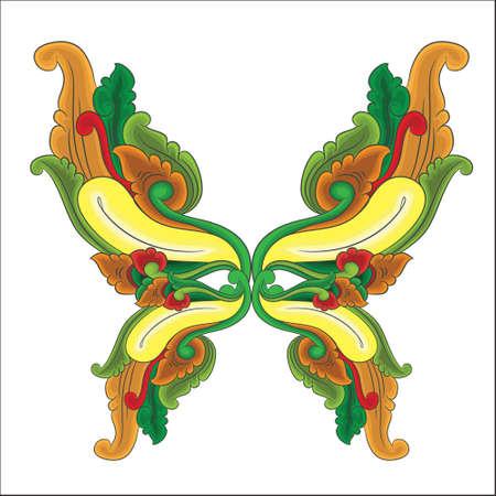 bali: Butterfly Ornament