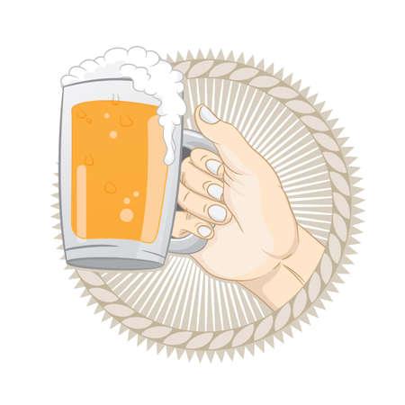 Get a Beer  Stock Vector - 19312800