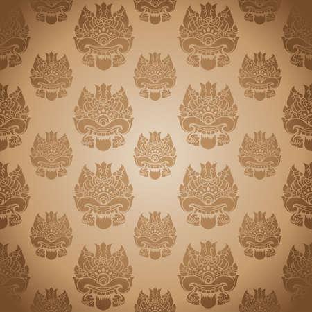 batik: Modèle One Eye Illustration