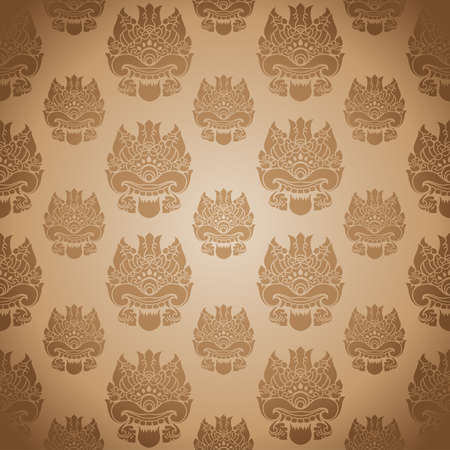 Pattern One Eye  Vector