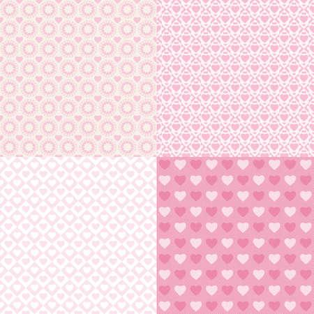 Pattern Heart  Illustration