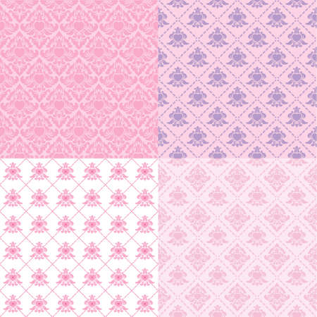 Pattern Valentine Classic  Vector