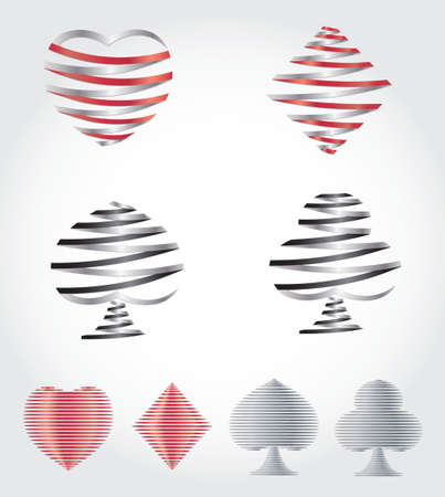 diamond shaped: Playing Card Symbols
