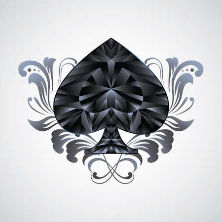 Ornament Spades